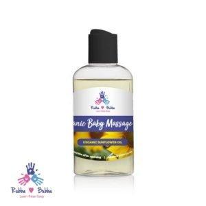 Organic Baby Massage Oil - Sunflower Oil